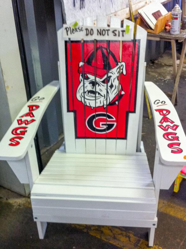 Captivating Georgia Bulldogs Adirondack ...